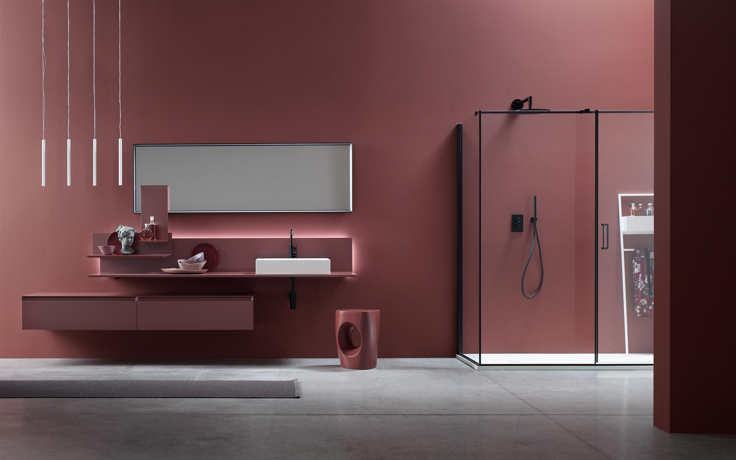 bagno rosso