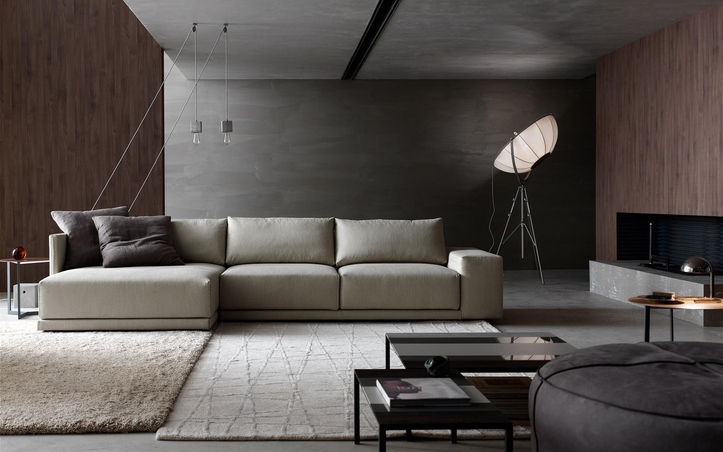 foto interni divano