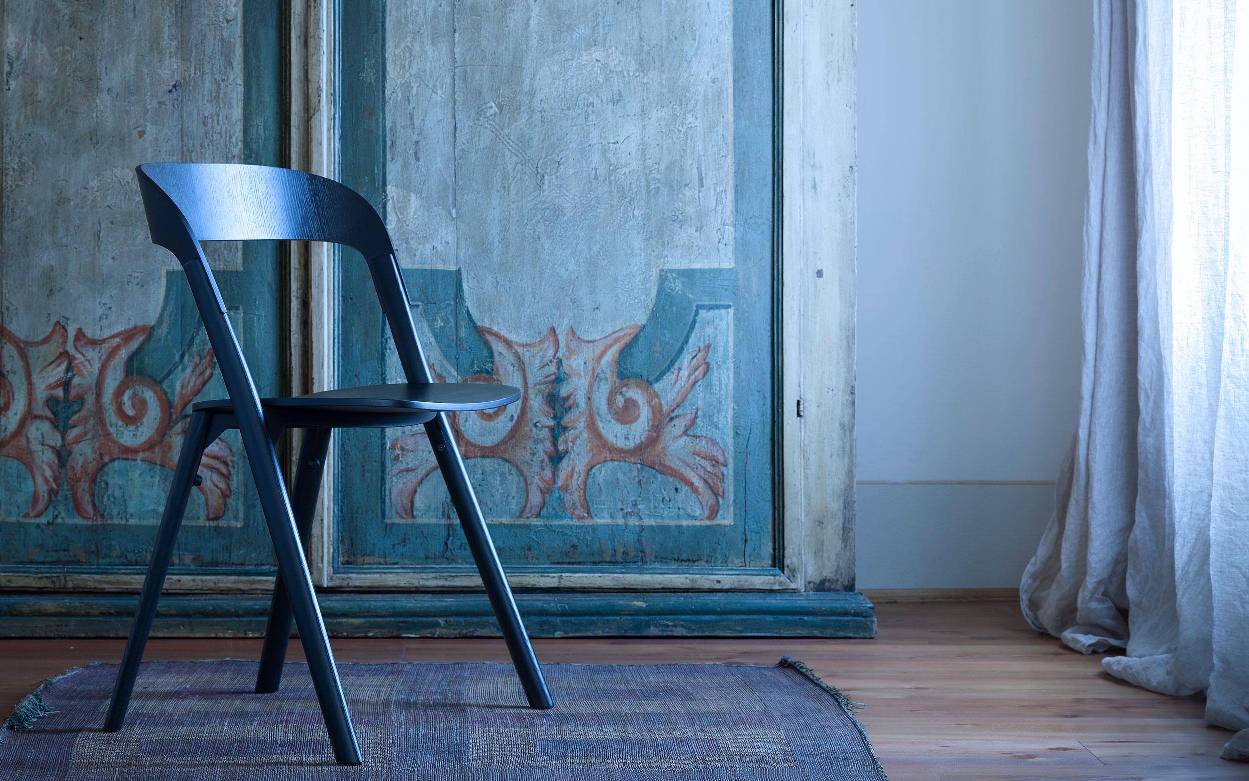 foto sedia legno